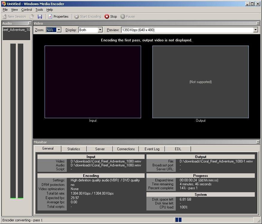 有りし日のWME出典:;http://www.videohelp.com/software/Windows-Media-Encoder