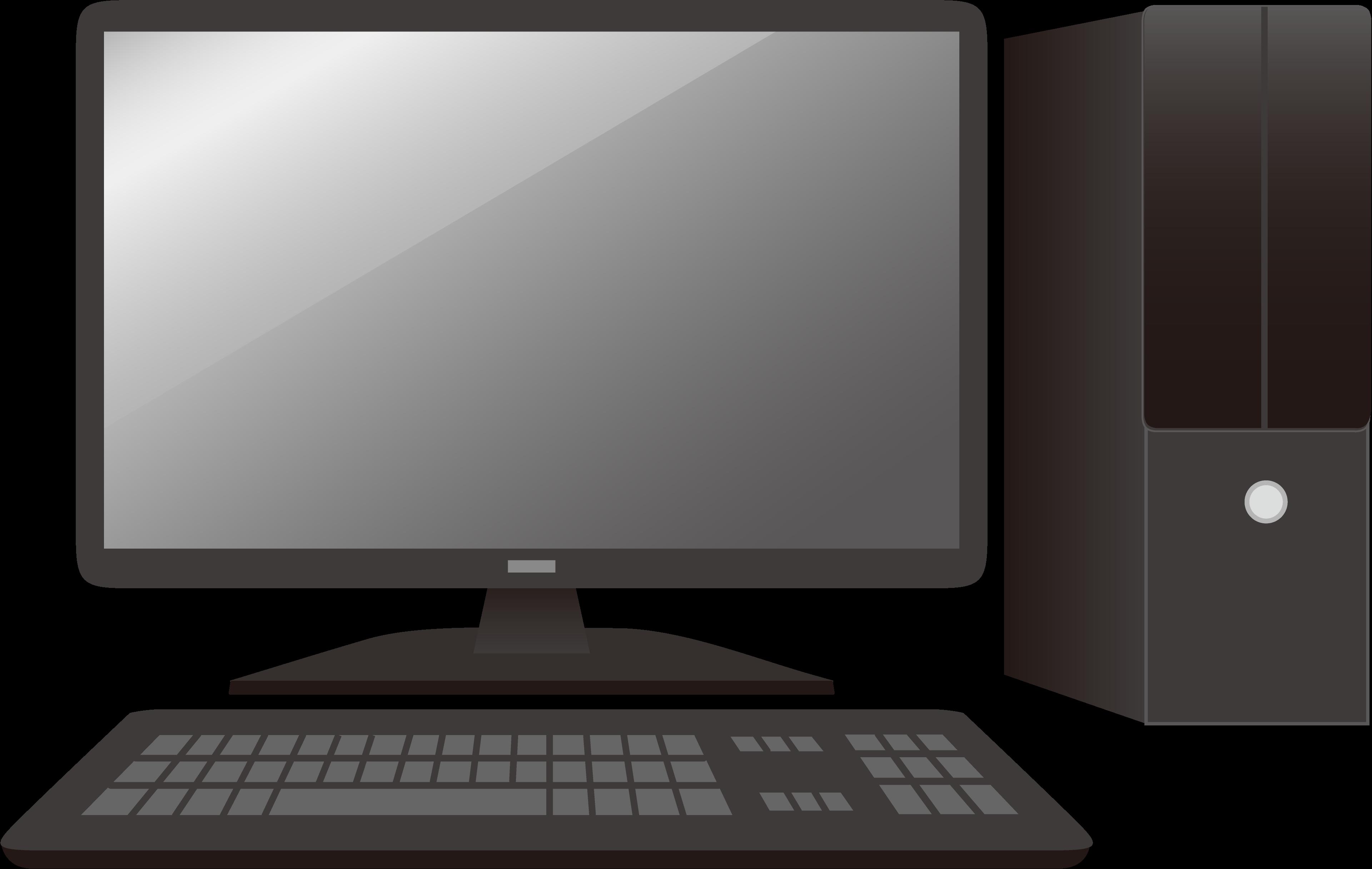 パソコンの画面が暗い
